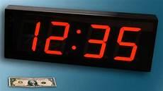 large big digital led wall clock countdown up timer