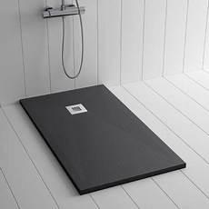 piatto doccia 130x80 piatto doccia ardesia pietra ples nero 80x70 cm pl