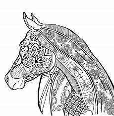 Ausmalbilder Erwachsene Kostenlos Pferde Ausmalbilder F 252 R Erwachsene Pferde Zum Ausdrucken