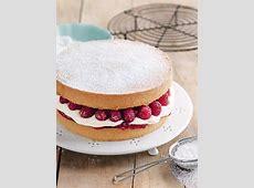 Jam And Cream Sponge Cake   Donna Hay