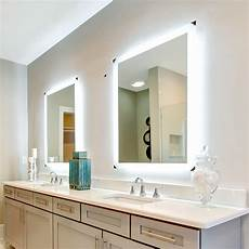 side lighted led bathroom vanity mirror 36 quot 36