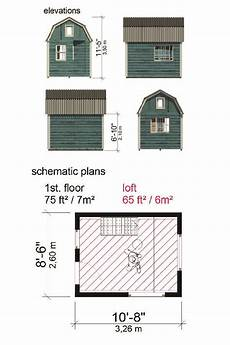 small gambrel house plans gambrel roof shed plans sonja in 2020 gambrel roof shed