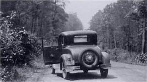 The Car Where Bonnie And Clyde Met Their End Was Raced In