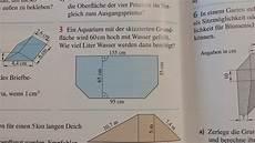 prisma volumen berechnen forum mathematik