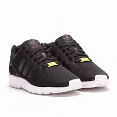 adidas zx flux black black white m19840 allike store