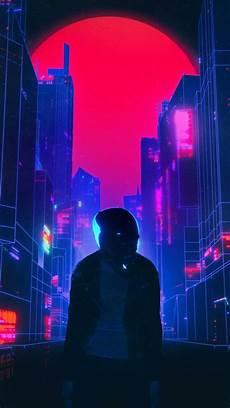 Neon Retro Cyberpunk Wallpaper by Retro Neon World Iphone Wallpaper Iphone Wallpapers In