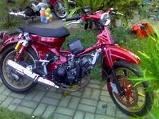 C70 Mesin Fu by Honda C70 Motorcycle Modifications Replaced Engine Mx