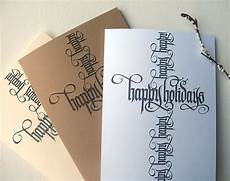 calligraphy cards on behance