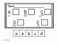 cut and paste letter worksheets for kindergarten 23464 kindergarten letter matching worksheets cut and paste tpt