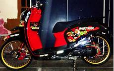 Babylook Scoopy Fi by Finna Rz Modifikasi Honda Scoopy Racing Look Style
