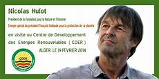 Nicolas Hulot En Visite Au Cder Ce Mercredi Centre De