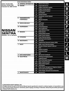 service and repair manuals 2009 mazda b series engine control nissan sentra model b16 series 2009 service manual pdf online download
