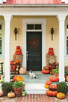 ideas tips exciting front door yard decorations 30 outdoor decorations for fall southern living