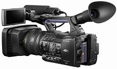Sony Unveils New Professional 4k Camcorder