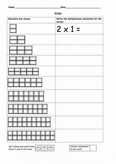 multiplication worksheets x2 4678 arrays 2 time tables teaching resources