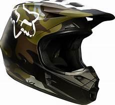 dirt bike helm fox racing v1 green camo dirt bike helmet mx atv 2015 gear