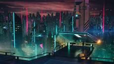 Neon Retro Cyberpunk Wallpaper by Science Fiction Futuristic Neon Futuristic City