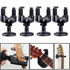 wall mount guitar holder 4x guitar wall mount hanger stand holder hooks display acoustic electric bass ebay