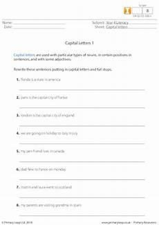 punctuation worksheets commas and stops 20715 capital letters 1 primaryleap co uk teaching punctuation read write inc phonics home