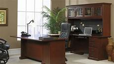 expensive home office furniture sauder heritage hill executive desk classic cherry