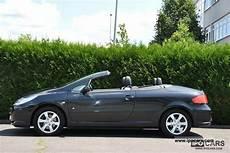 peugeot 307 cc cabrio 2006 peugeot 307 cc hdi fap 135 jbl convertible coupe