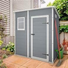keter manor pent plastic garden shed 6ft x 4ft outdoor