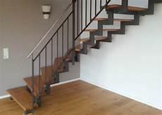 treppe stahl holz stahlbau schlosserei und schmiede leippert in engstingen