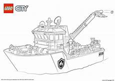 Ausmalbilder Polizei Truck Lego City Boat Coloring Pages Printable