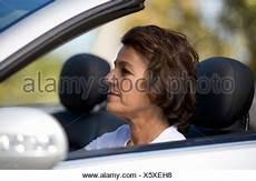 Femme Au Volant D Une D 233 Capotable Open Top Voiture De