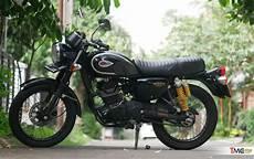 W175 Modif by Modif Kawasaki W175 Makin Klasik Cukup Ganti 3 Part Ini