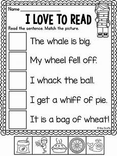 wh worksheets activities no prep phonics cvc words kindergarten reading