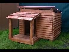 construire une niche pour chien en palette niche chien