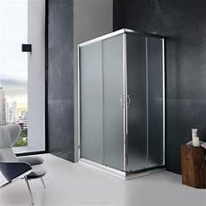box doccia 70 x 90 doccia 70x90 angolare cristallo opaco ante scorrevoli kv