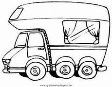 Malvorlagen Wohnmobil Ausmalbilder Wohnmobil 03 Gratis Malvorlage In Lastwagen