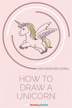 how to draw a unicorn in a few easy steps easy