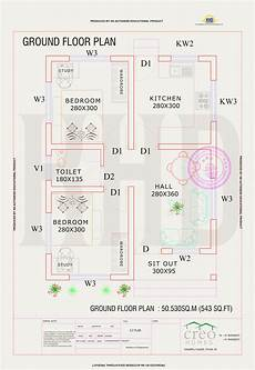 plan of houses in kerala 545 sq ft beautiful kerala home plan with budget of 5 to 7