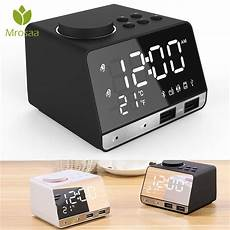 Display Dual Alarm Clock Dual Units by Led Display Musical Alarm Clock Dual Units Wireless