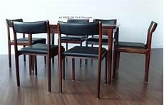 Esstisch 6 Stühle - 70er palisander rosewood esstisch 6 st 220 hle mid century
