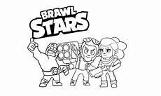18 desenhos de brawl para colorir