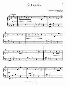 fur elise sheet music direct