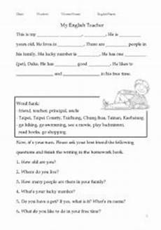 guided writing worksheets for grade 3 22911 guided writing my esl worksheet by ottovin