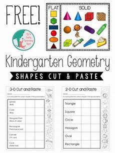 kindergarten geometry 2d and 3d shapes liz s early