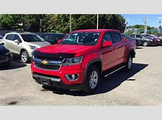 2016 Chevrolet Colorado 4WD Crew Cab LT Red Hot Roy