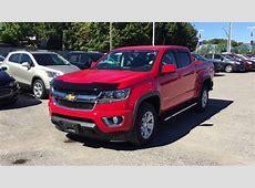 2016 Chevrolet Colorado 4WD Crew Cab LT Red Hot Roy