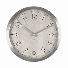 wall clock wood charm white wash wood karlsson ka5609wh