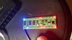 short preview mcu controlled 2 channel 24 rgb led vu meter with different pattern details