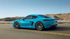 718 cayman s production launch porsche 718 cayman