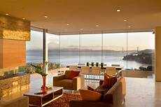 21 glass wall living room designs decorating ideas