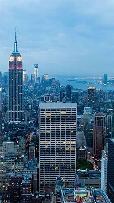 nyc 4k wallpaper iphone new york city blue dusk iphone 6 plus hd wallpaper ipod