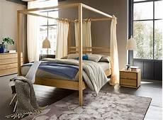 letto a baldacchino in legno nemo letto a baldacchino in legno